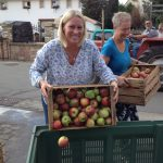 16 Auch Frau Bruhn hilft mit